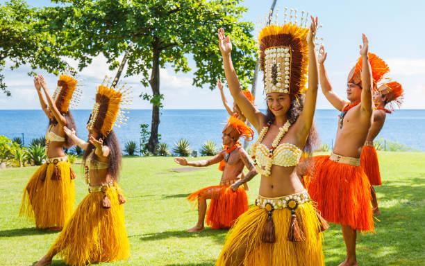 タヒチアンダンスのイメージ